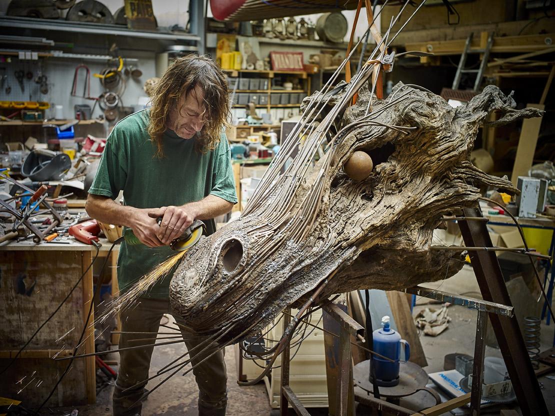 Atelier1110 atelier d 39 art la gacilly - Sculpture exterieure metal ...