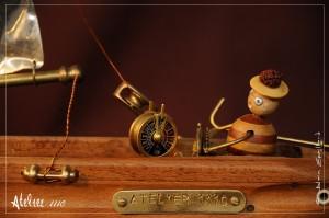 CAPT'AINE NEMO FIL  - Atelier 1110 - La Gacilly - Destination Brocéliande - Y.R.