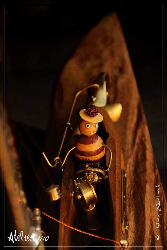 CAP'TAINE NEMO FIL  - Atelier 1110 - La Gacilly - Destination Brocéliande - Y.R.