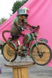 le motard de l'Atelier 1110