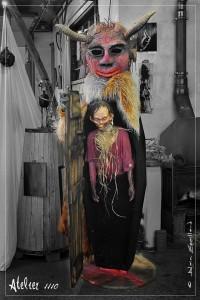 Halloween 2016 déco fabriqué par Dom