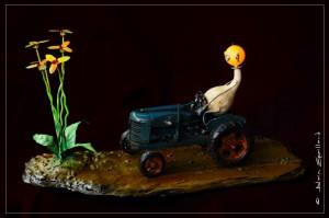 ROGER M OU L'AGRICULTURE DERAISONNEE  - ATELIER 1110 - LA GACILLY