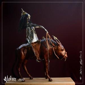 ZEBUL LE MONGOL FIER - ATELIER 1110 - La Gacilly