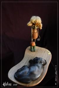 ANNICK ET L'CHIEN - Atelier 1110 - La Gacilly