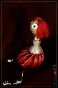 MISS RED - Atelier 1110 - La Gacilly - Destination Brocéliande - Y.R.