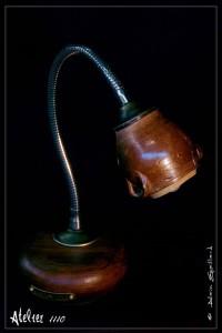 LA LAMPE DE BOIS ET DE GRES - ATELIER 1110 - La Gacilly