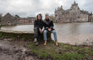 Dom et Anne Smith au Chateau de Comper