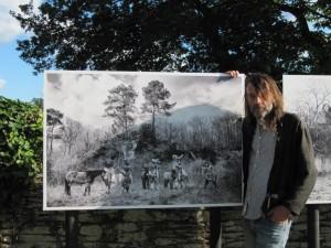Festival Photo 2017, expo Emanuele Scorcelletti à La Chapelle Gaceline avec la participation de Dom et de ses créations de L'ATELIER 1110